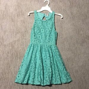 Floral lace dress from PacSun